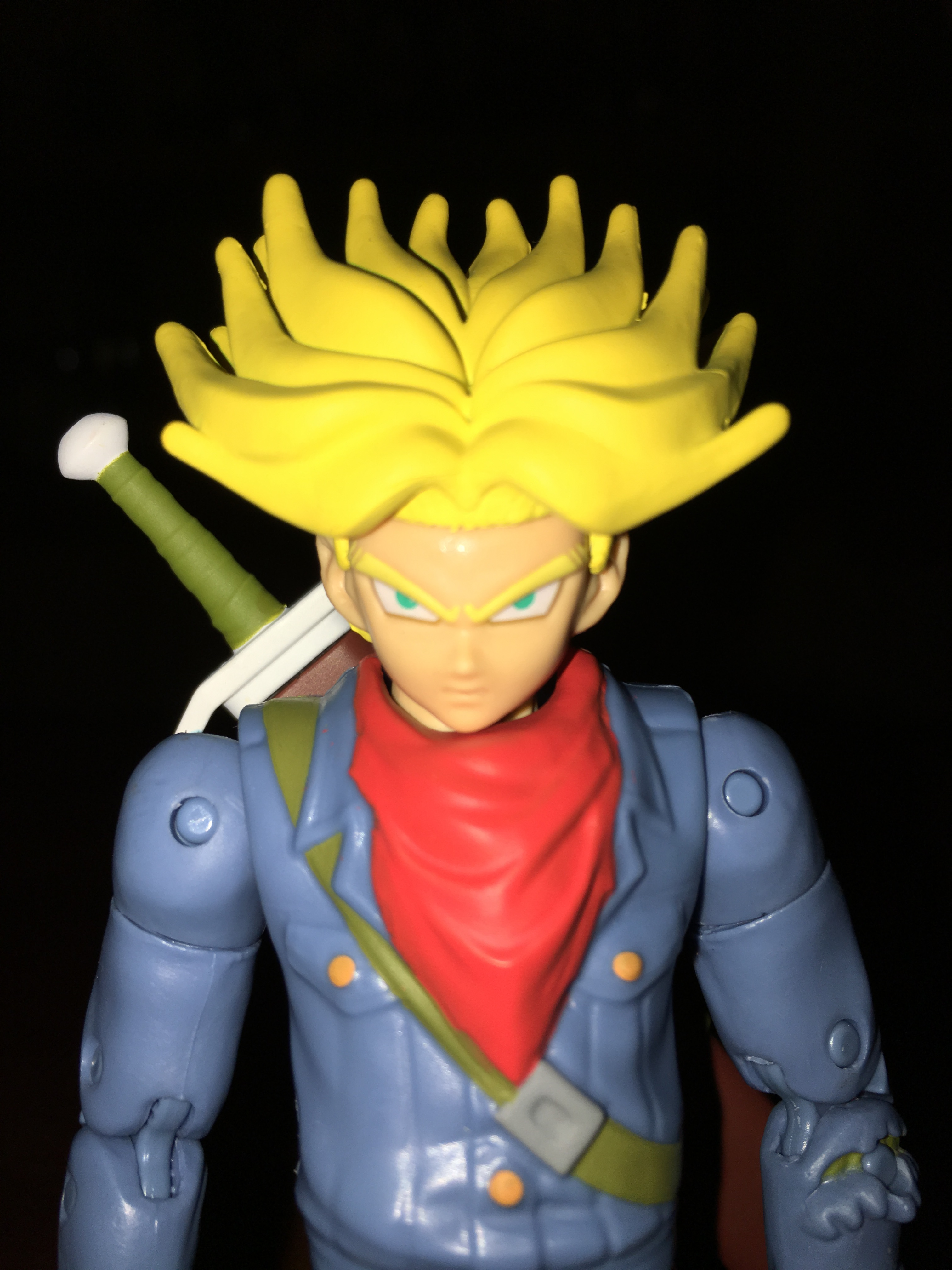 Action & Toy Figures New 6 Pcs Dragon Ball Toy Dragonball Z Dbz Goku Gohan Piccolo Vegeta Super Saiyan Face Change Joint Movable Anime Action Figures Good Reputation Over The World