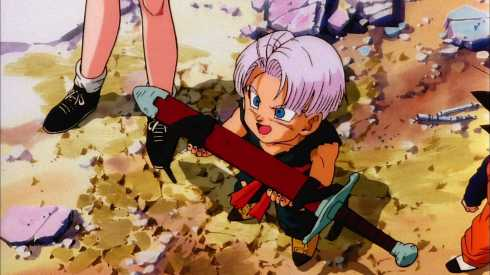 trunks with sword