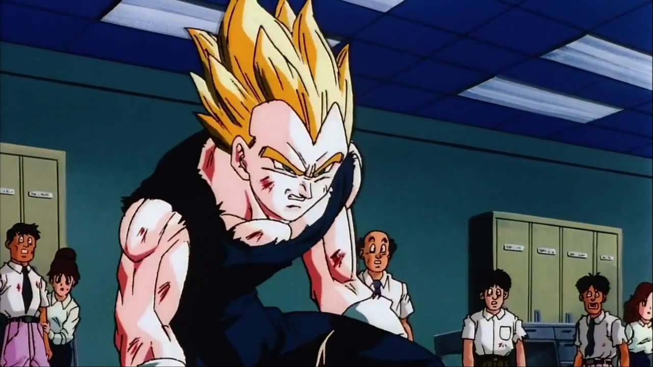 vegeta wrath of dragon