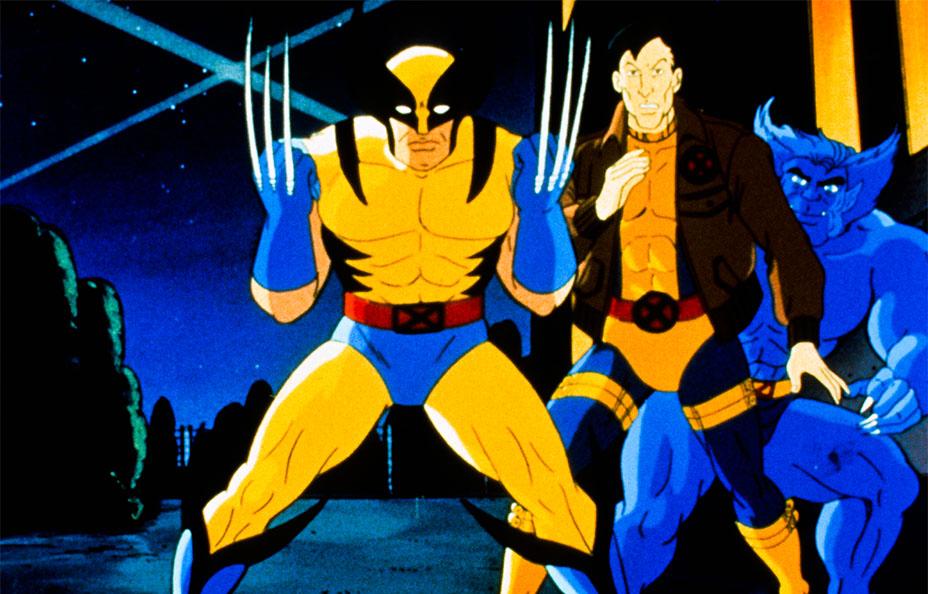 X-Men (FOX) [1992-1997]Shown from left: Wolverine, Morph, Beast