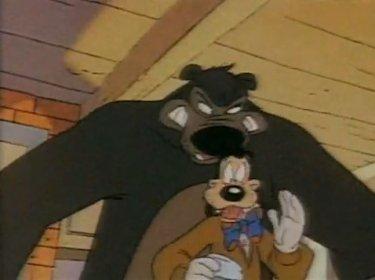 goofy and bear