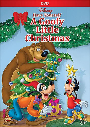 goofy christmas dvd