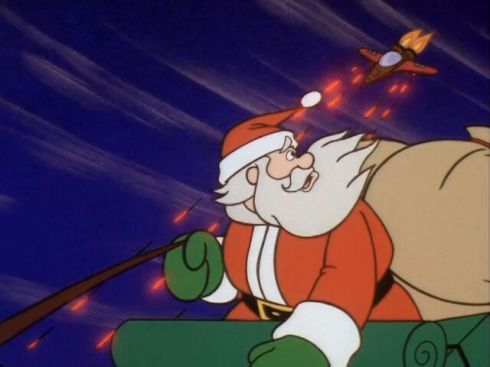 look out santa