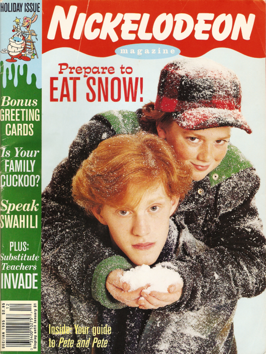 nick magazine christmas pete