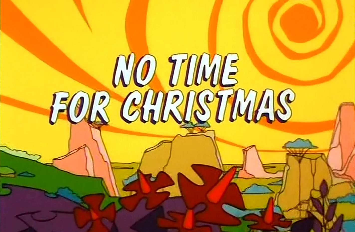 no time for xmas