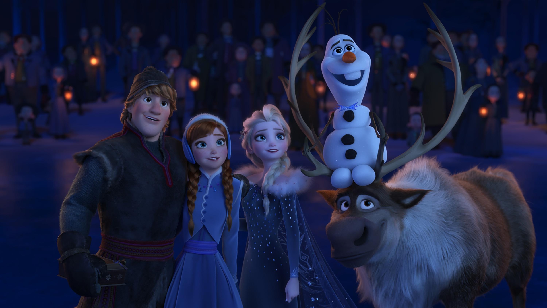 KRISTOFF, ANNA, ELSA, OLAF, SVEN