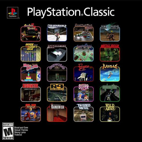 psx classic games