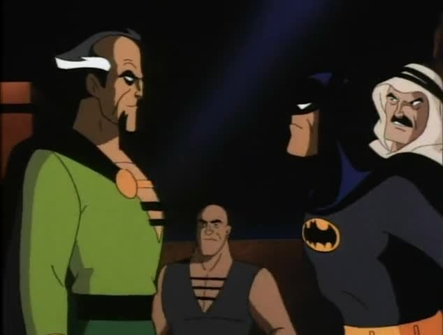 ras and batman reunion