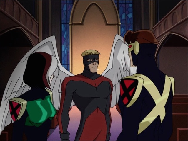x-men and angel
