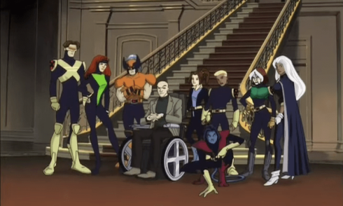 x-men evolution intro