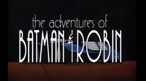 batman and robin intro