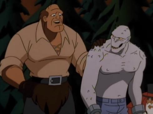 goliath and croc