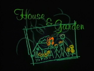 house and garden title card