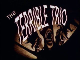 terrible trio title card