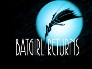 batgirl returns card