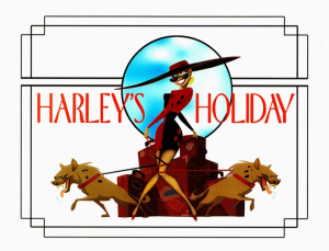 harleys holiday title card