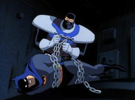 lockup gets batman