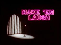 make em laugh card