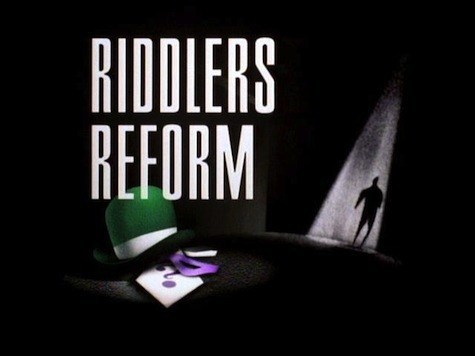 riddlers reform card