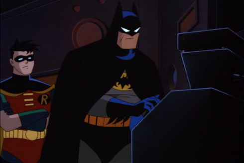 batman robin batcave