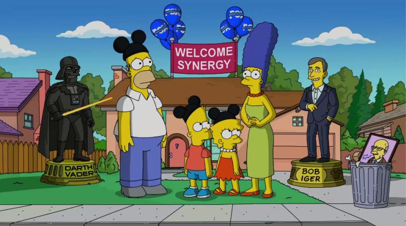 Disney-Simpsons