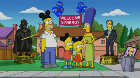 Disney-Simpsons