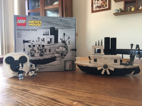Lego 21317 – Steamboat Willie | The Nostalgia Spot