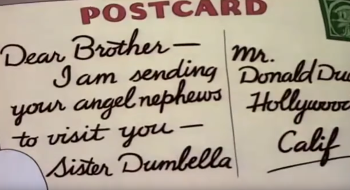 dumbellas letter