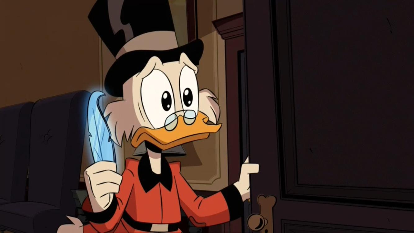 scrooge sees della