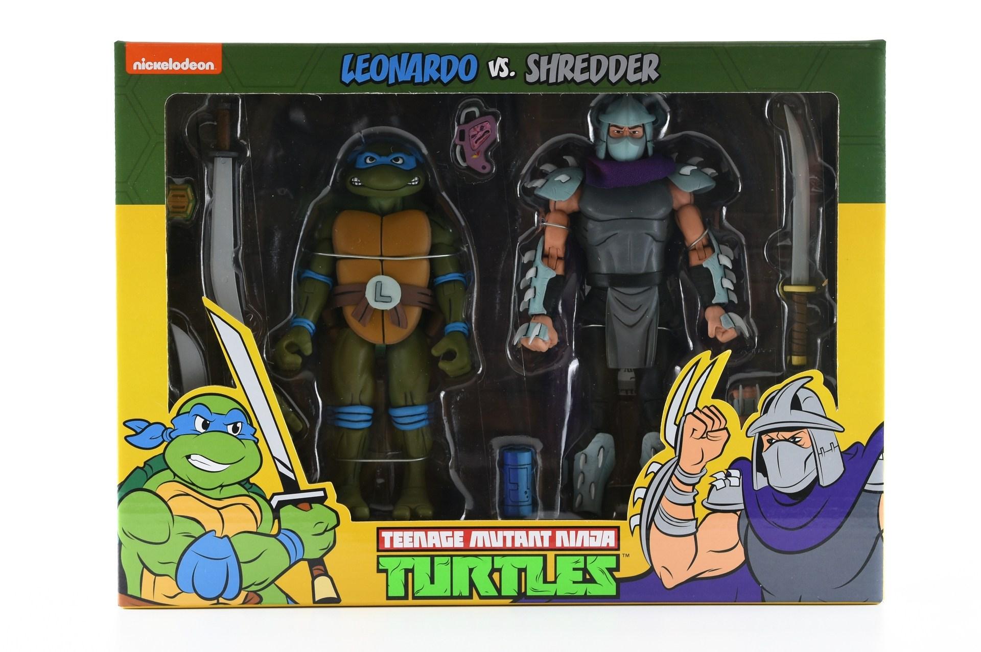 leo vs shredder two pack