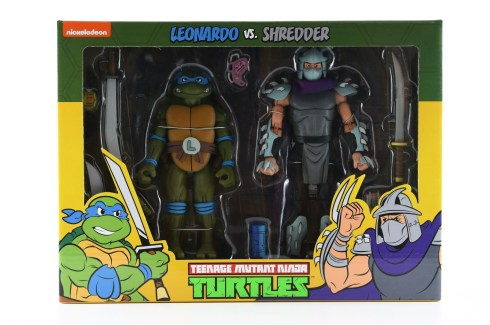 leo vs shredder two pack