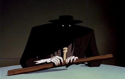shadowy scarecrow