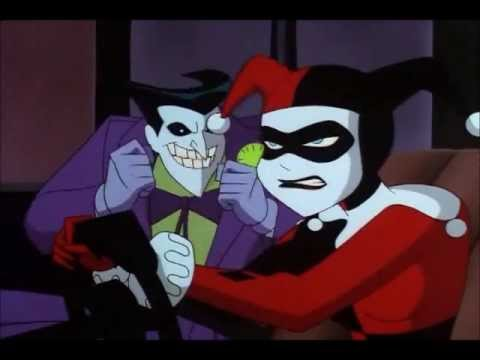 harley and joker flee