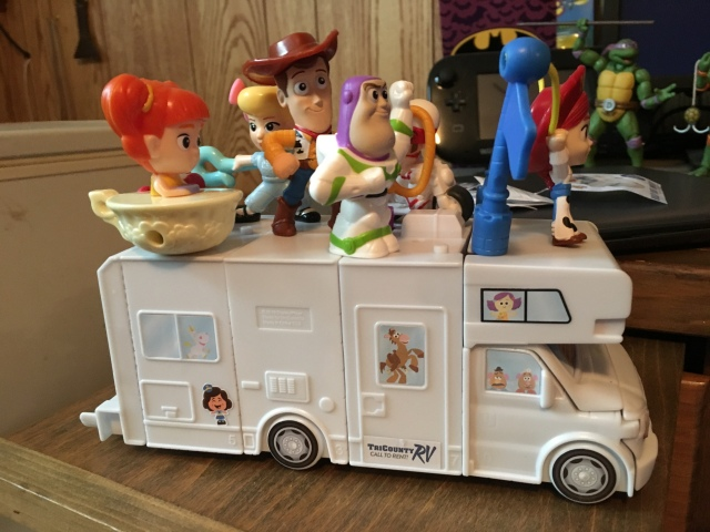 Toy Story 4 Happy Meal Rv The Nostalgia Spot