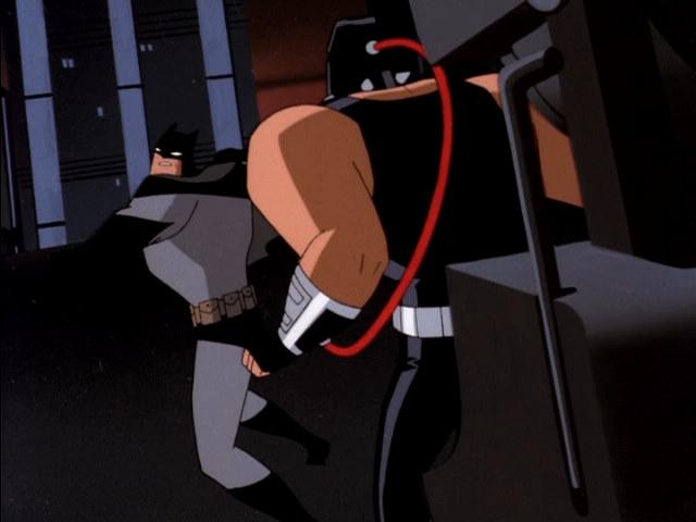 batman hits hard
