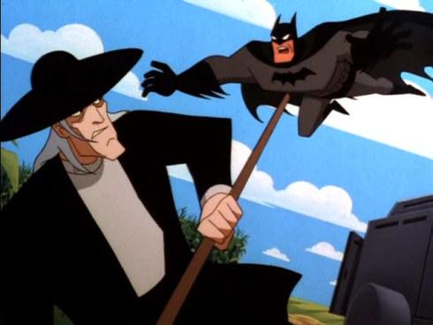 brown vs batman
