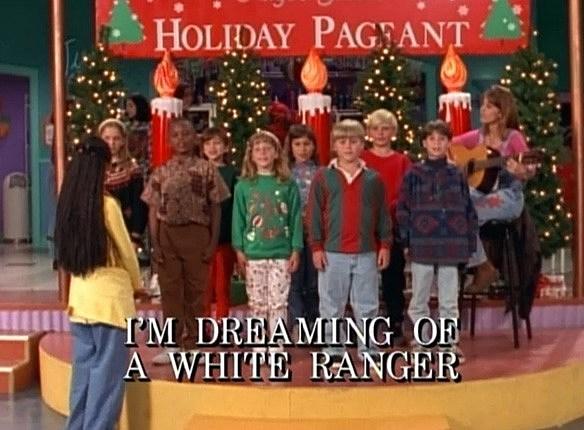 dreaming of white ranger