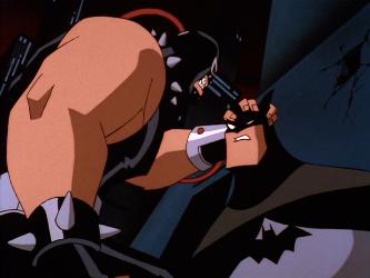 new bane vs batman