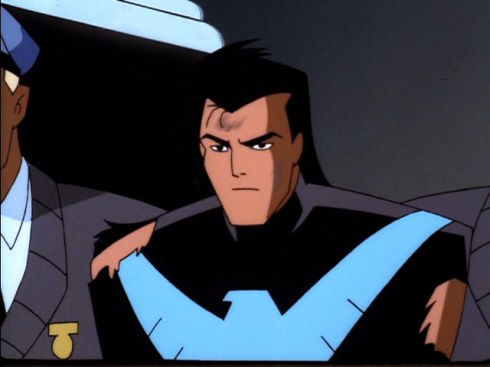 nightwing arrested