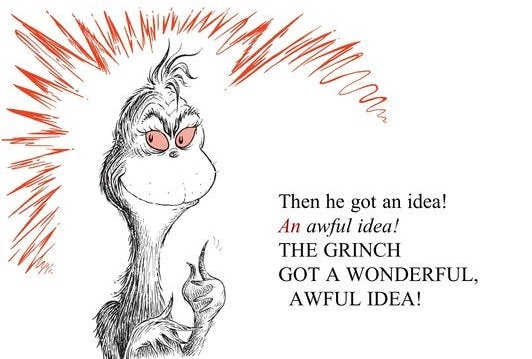 wonderful awful idea print