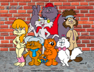 heathcliff catillac cats