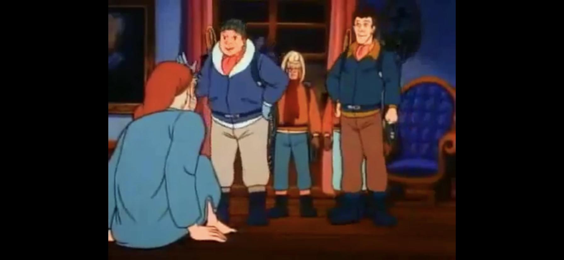 ghostbusdters meet scrooge