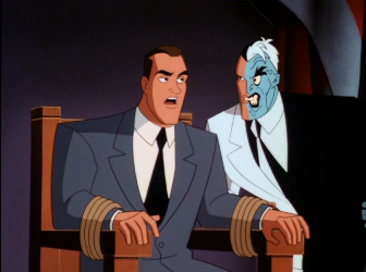 two-face interrogates