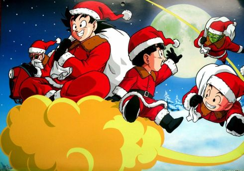 dragon ball christmas