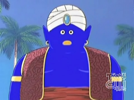 blue mr popo