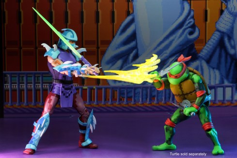 shredder vs raph