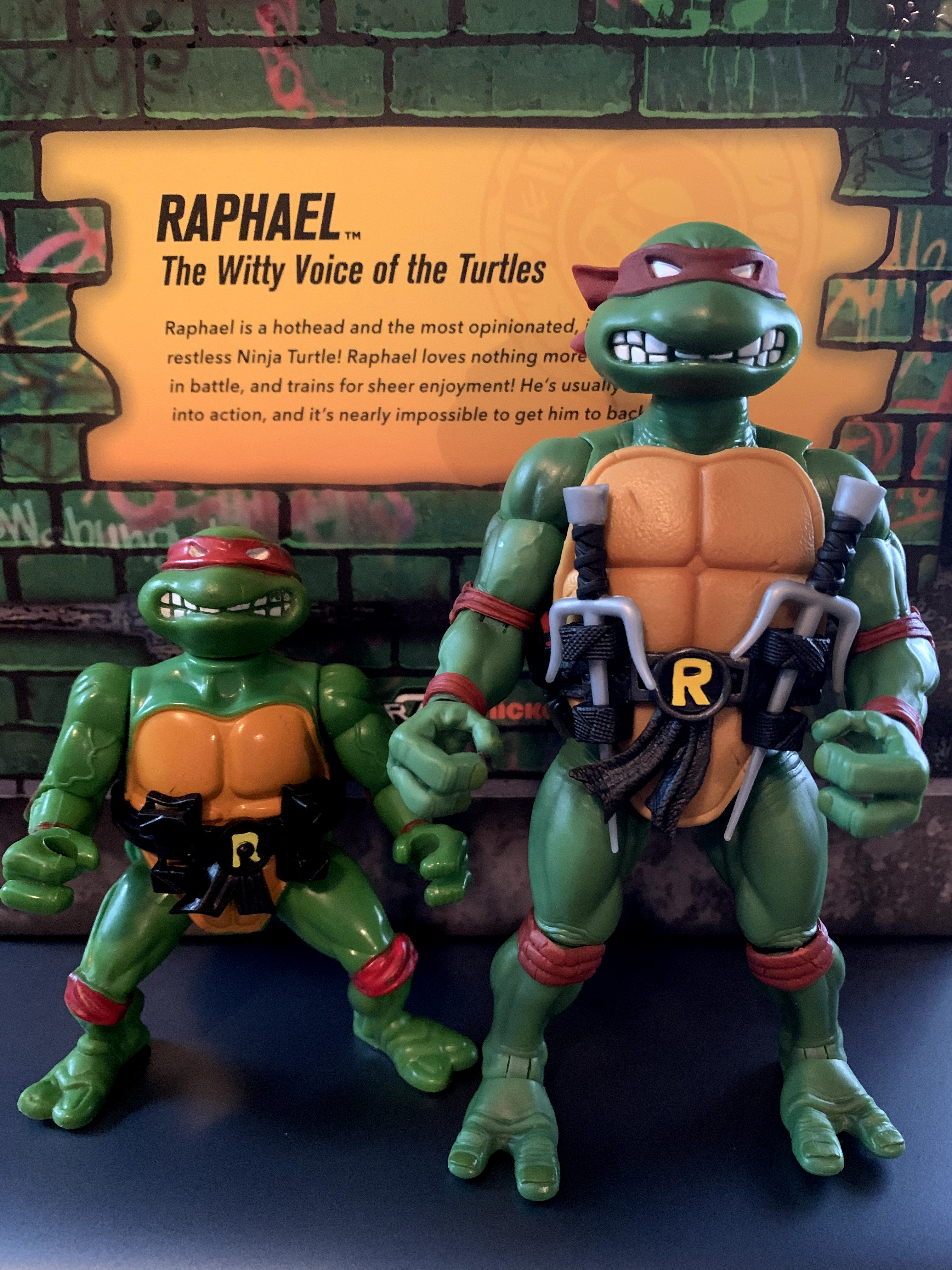 "2X 4.5/"" Teenage Mutant Ninja Turtles TMNT Leonardo /& Raffaele Movie Figure Toy"